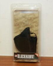 BLACKHAWK! 40AM01BK Ambidextrous Nylon Hip Gun Holster w/ Mag Pouch Sz. 1