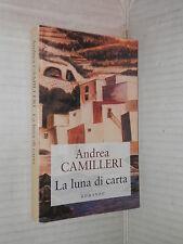 LA LUNA DI CARTA Andrea Camilleri Mondolibri 2005 libro romanzo narrativa storia
