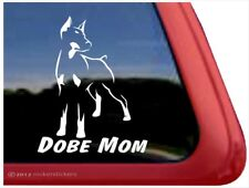 Dobe Mom | Cropped Doberman Pin