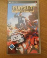 Pursuit Force / Jeu Pour PSP / jeu+ notice (version allemande)