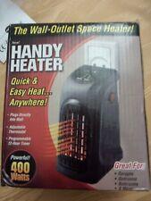Mini Heizung Handy Heater schwarz für die Steckdose 400 Watt