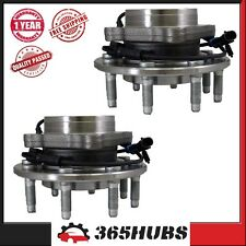 BH515058HD x 2 New Front Wheel Bearing Hub Assembly 4WD 8 Stud Hubs Avalanche