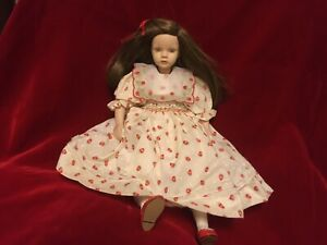"Pauline's Limited Edition 12"" Doll ELaine by Pauline Bjonness-Jacobsen 449/950"