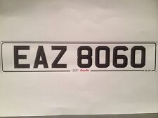 DATELESS cherished Number plate EAZ 8060,EA Z 8060,BMW Z8 Aug 60 Cheapest o eBay