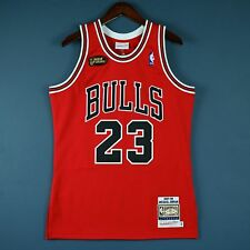 9cbe4fb20e97 100% Authentic Michael Jordan Mitchell Ness 97 98 Finals Bulls Jersey Size  40 M