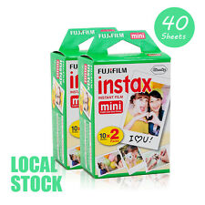 40 Sheet Fujifilm Instax Mini Film 100 Fuji instant photos 7s 8 90 Polaroid 300