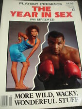 1989 Playboy Newsstand Special Year in Sex 1988 Review Robin & Mike Tyson
