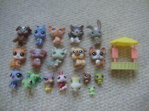 Littlest Pet Shop figures x 18