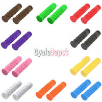 Bicycle Skull Lowrider Handlebar Grips Chopper Beach Cruiser BMX MTB  Bike Grips