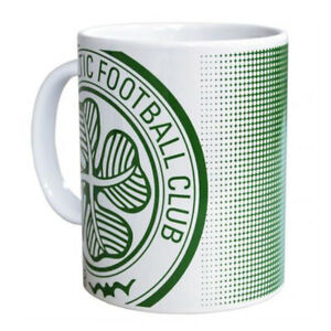 CELTIC FC CERAMIC MUG 11oz OFFICIALLY LICENSED PACKED IN ACRYLIC GIFT BOX
