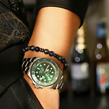 8mm Tiger Eye Beads Hematite Bracelets Charm Women Men's Yoga Energy Bracelets
