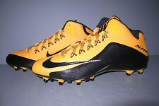 NIKE ALPHA PRO 2 3/4 TD PF Men's - Football  Cleats Black/Gold Size 14