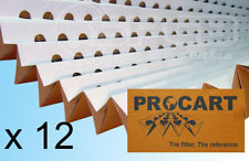 12 x Spray Booth Concertina Pleated Cardboard Paint Filters 1 x 10m DISCOUNT