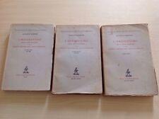 A.SANDONÀ L'IRREDENTISMO NELLE LOTTE POLITICHE E ..  3 VOLL ZANICHELLI 1932-1938