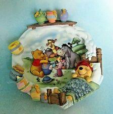 "Disney Winnie The Pooh ""A Smackeral Of Fun For Everyone"" Bradford Ex. Plate 700"