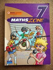 Heinemann MATHS ZONE 7 Plus CD NEW & Sealed AUS, BOUCHER Mathematics VGC Pearson