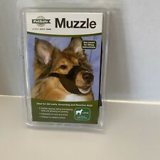 PetSafe Black Dog Muzzle Large Teach Groom Obedience Dog Large