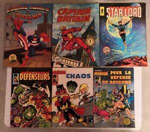 Lot de 12 comics divers en couleurs publiés par Aredit