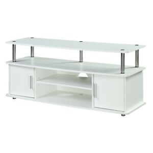 Convenience Concepts Designs2Go Monterey TV Stand, White - 151401W