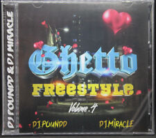 GHETTO FREESTYLE MIX VOL 4 CD CHICAGO DJ MIRACLE & DJ POUNDD NEW SEALED MIXED
