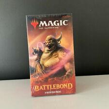 Magic The Gathering Battlebond 4 Booster Packs Factory Sealed new sealed