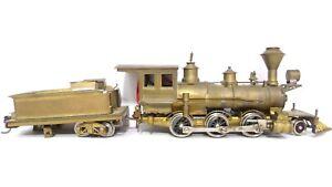 Ken Kidder HO Porter Mogul 2-6-0 Brass Steam Locomotive & Tender Requires Rest.