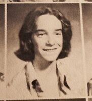 Cliff Burton 1977  High School Yearbook  Metallica Guitarist