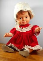 """IDEAL Vintage Baby Crissy Doll Large 24"""" Red Growing Hair 1972 See Pictures"""