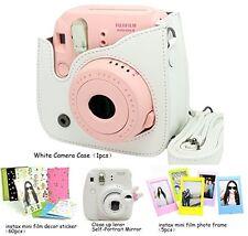 Fujifilm Instax Mini 8 Instant Camera Accessory Bundles Set (included: White