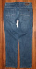 MENS BUFFALO JACKSON-X STRAIGHT STRETCH FIT JEANS SIZE 36X34