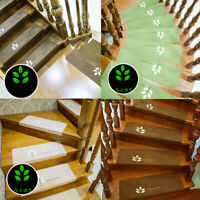 Self-adhesive Staircase Mat Rug Non Slip Cover Pad Stair Treads Carpet Luminous