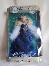 Collectible 1998 Sarah Celebration In Sapphire Porcelain Doll In Box Sealed