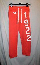 HOLLISTER orange sporty training yoga casual sweatpants trousers size XS VGC