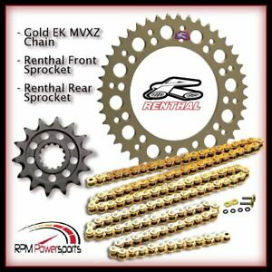 Renthal 16/42 520 Kit EK MVXZ2 Chain 2004 2005 Honda CBR 1000RR CBR1000RR