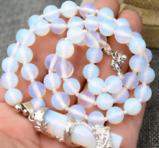 Natural New 10mm Sri Lanka Moonstone Gems Pendants Necklace 18''