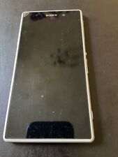 Sony Xperia Z1 White 16gb Used Fully Working On Network 3 Phone Only