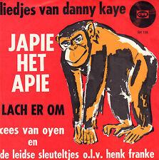 """CEES VAN OYEN / LEIDSE SLEUTELTJES - Japie Het Apie (1964 VINYL SINGLE 7"""")"""