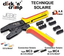 Pince à sertir click'n'crimp TECHNIQUE SOLAIRE - CIMCO 106052