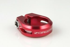 New ZOAGEAR Road MTB Bike Bicycle Cycle Seatpost Seat Post Clamp 31.8mm Red