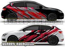 Seat Leon FR Cupra Rally 003 racing motorsport graphics stickers decals vinyl