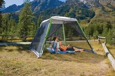 Coleman 10'x10' Instant Canopy/Screen House, Camping & Tailgating -New In Box