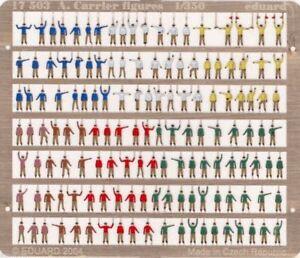 eduard 1/350 Aircraft Carrier Figures (painted) 17503 x