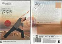 Hatha and Flow Yoga for Beginners DVD Element Tamal Dodge reduce stress Ashtanga