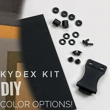 KYDEX DIY HOLSTER MAKING KIT- MANY COLOR OPTIONS AVAILABLE + EXTRAS