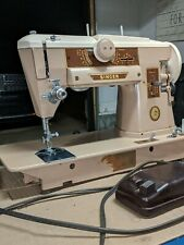New ListingVintage Singer 401A Slant O Matic Sewing Machine w/ Foot Pedal