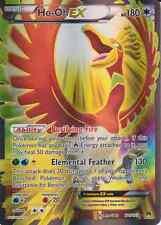 Pokemon Card: HO-OH EX 121/122 XY Breakpoint Holo Full Art Ultra Rare NM
