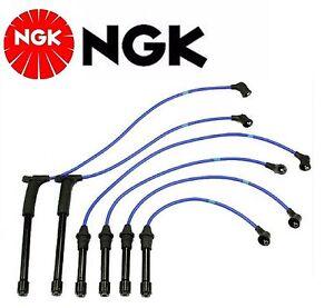 NGK Spark Plug Ignition Wire Set For Nissan Pathfinder V6 3.3L 1996-2000
