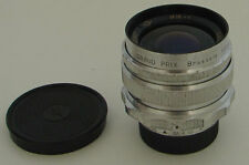 "Mir-1 2.8/37mm ZOMZ ""GRAND PRIX"" Brussels 1958 lens M39 SLR screw mount EXC."
