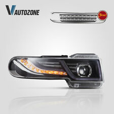 Headlight For Toyota FJ Cruiser 2007-2015 Head Lamps with Grille Projector LED