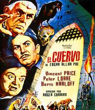 EL CUERVO (BLU-RAY DISC BD PRECINTADO) VINCENT PRICE - PETER LORRE TERROR CULTO